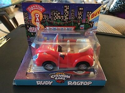RUDY RAGTOP #15 of Chevron Toy Car - NEW In BOX (NIB) Red VW Cars