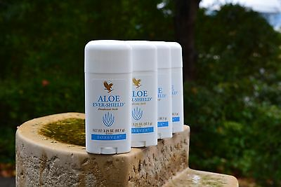 4x Aloe Vera Ever Shield Deo Stick - FLP FOREVER LIVING