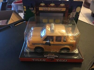 1997 Collectible Chevron Gas Car Tyler Taxi from Commercials Television NEW