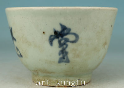 Chinese Porcelain Collection Handmade Painting Tea Cup Bowl Decoration