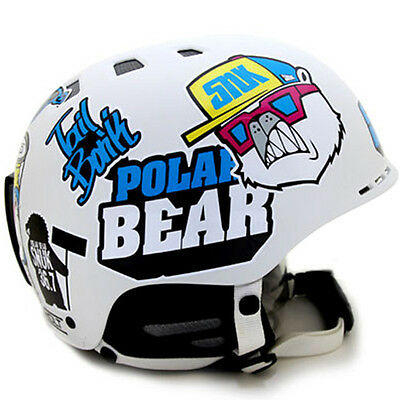 Decal Stickers For Helmet Motorcycle Snowboard Hard Hat Graphicer SNUK 01