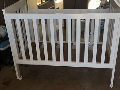 CHILD CARE  COT WHITE JUNIOR baby BED