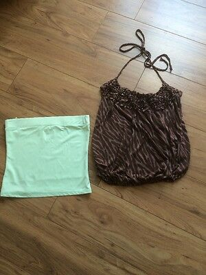 Ladies Tops, Size 8 (New Look & River Island).
