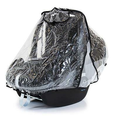Car Seat Rain Cover Baby Child 0/11kg Raincover UV Protection Black, Red, Pink