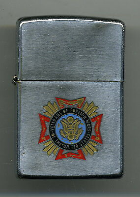 Zippo Lighter 1978 Veterans Of Foreign Wars The United States. Vintage Military