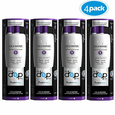 4X EDR1RXD1 EveryDrop 1 FILTER Whirlpool W10295370A W10295370 Ice & Water Filter