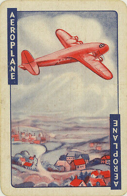Single Vintage Game Card: Aeroplane