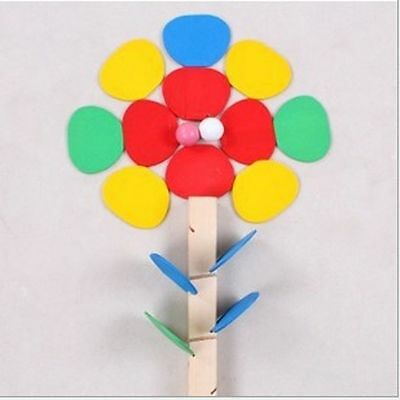 Assemble Educational Wooden Toys Tree Marble Ball Run Track Building Blocks