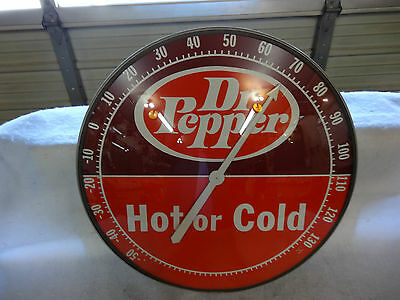 Nice Dr Pepper Soda Thermometer 18 Inch