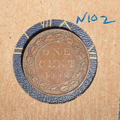 1906 Canada Large Cent - N102