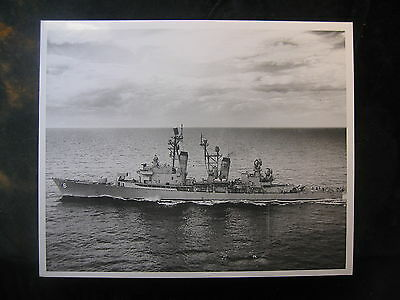 Vintage US Navy 8 x 10 Press Photo USS Farragut DLG-6 Mayport, FL 627