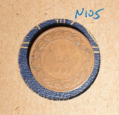 1907 Canada Large Cent - N105