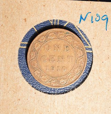 1910 Canada Large Cent - N109