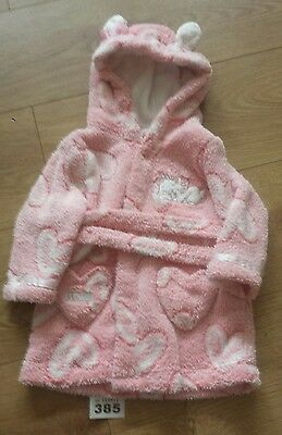 lovely baby girls dressing gown, clothes age 6-9 months.