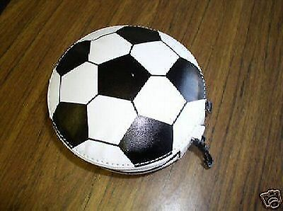 Sports Cd Wallets - Holds 24 Cds - Soccer