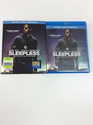 Sleepless (Blu-Ray+Digital HD) No DVD Included, Please Read Details