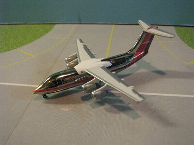 "Jet-X Us Air ""chrome"" Bae-146 1:400 Scale Diecast Metal Model"