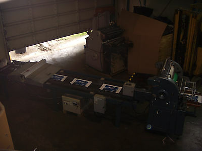 UV Coater System with AB Dick 360/380 and extra parts AB Dick AS IS