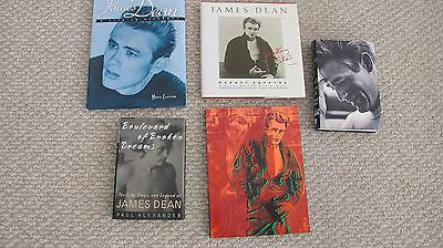 FIVE BOOKS! The Life, Times and Legend of James Dean