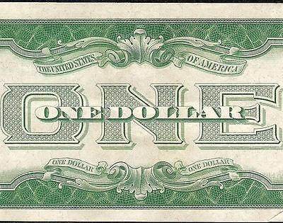 1928 B $1 One Dollar Bill Silver Certificate Funnyback Note Currency Paper Money