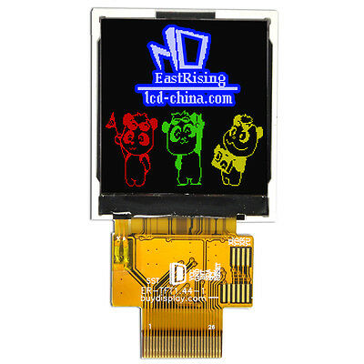 """Color 1.44"""" TFT Serial SPI 128X128 LCD Display Module w/ST7735S,Tutorial"""