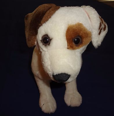 1996 Wishbone Jack Russell Terrier Plush Stuffed Dog by Equity Toys