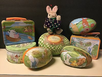 Godiva Easter Bunny Large Lot Campbell Soup Related Item