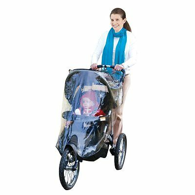 J is for Jeep Jogging Stroller Weather Shield, Baby Rain Cover, Universal Size,