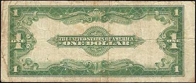 Large 1923 $1 One Dollar Bill Silver Certificate Note Big Currency Paper Money