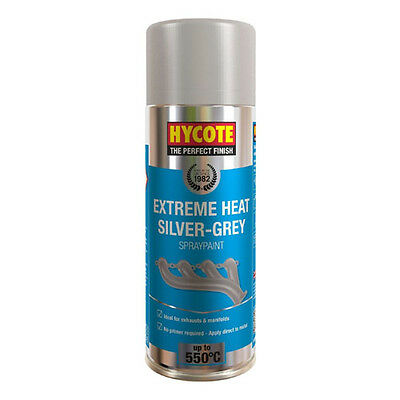 Hycote Very High Temperature Silver Grey Spray Can Paint 400ml