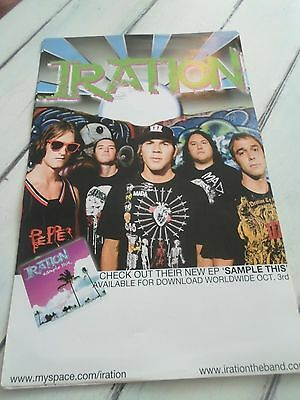 """IRATION Concert Poster SAMPLE THIS 11""""x17"""""""