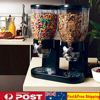 Cereal/Candy Dispenser Plastic Cereal Dispenser Machine Dry Food Dispenser