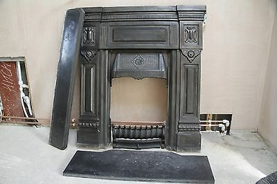 Cast Iron Victorian Fireplace surround, hearth and mantle piece