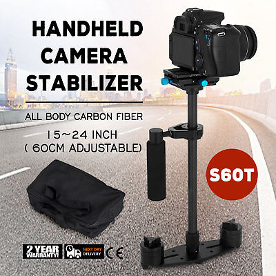 YELANGU S60T Carbon Fiber Camera Stabilizer 360°All-round Adjust Length Scalable