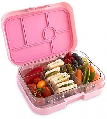 YUMBOX Classic (Bahamas Pink) Leakproof Bento Lunch Box Container for Kids