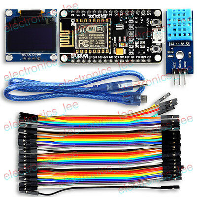 ESP8266 WEATHER STATION Kit with DHT11 Temperature Humidity