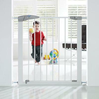 Lindam Baby Gate Stairs Door Pressure Mount Sure Shut Axis Safety White 76-82cm