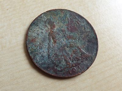George VI Penny 1947 Contemporary? Approx 5.9g Error? (myrefn10598)