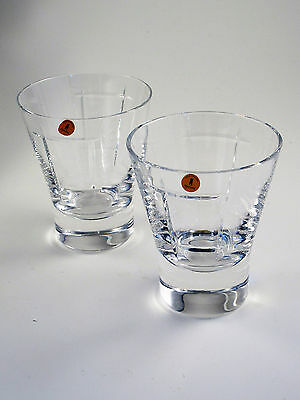 Tyrone Crystal CUBIS 2x Tumbler NEW & UNUSED