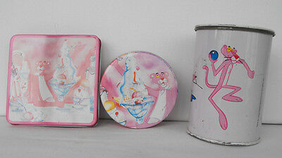 PINK PANTHER  tin items bank 1984 cool items must have L@@K