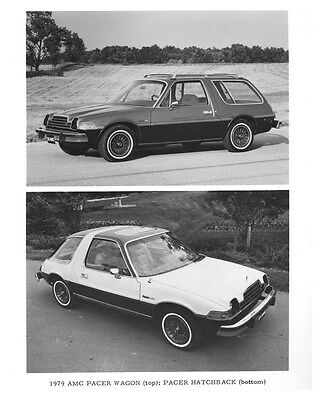 1979 AMC Pacer Wagon & Pacer Hatchback ORIGINAL Factory Photo och6051