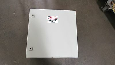 Rittal Ae 1060 600X600X195Mm Steel Wall Mount Electrical Enclosure W/ Back Plate