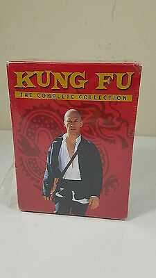 Kung Fu: The Complete Series Collection New Sealed 11 disc 62 episodes DVD Set