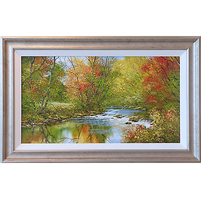 Autumn Tones by Terry Evans Original Oil Painting