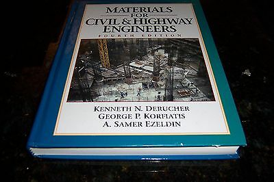 Materials for Civil and Highway Engineers by Samer Ezeldin Hardcover 4th ed