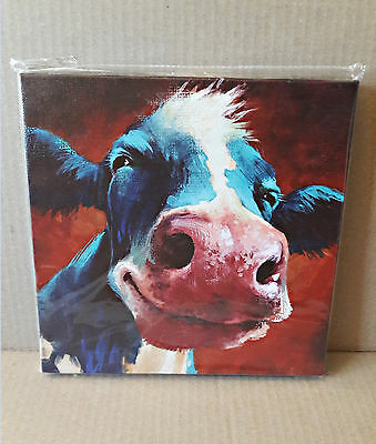 Blue Cow Kitchen Wall Decor Country Kitchen Animals Countryside