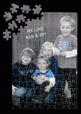 Personalised A3 Jigsaw Puzzle, Game, Gift, Christmas, Birthday, Photo, Mum, Dad
