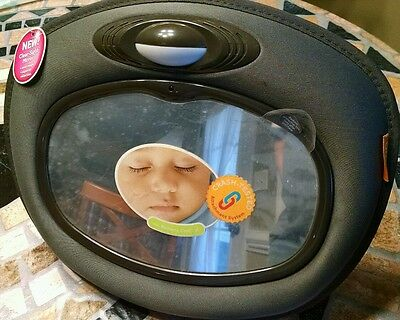 Brica Car Baby Mirror with Light, Toddler, Infant, Automobile, Travel, Safety