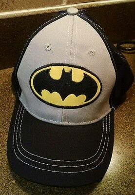 New With Tags Batman Boy's Hat, Youth, Toddler, One Size, Berkshire Fashions