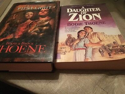 Lot Of 3 Christian Fiction By Bodie & Brock Thoene And Jake & Luke Thoene